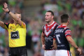 NRL Grand Final: Cooper Cronk reveals message to Sydney Roosters team-mates after sin-binning