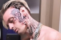 Aaron Carter reveals he's moving to Canada in early morning Twitter rant after debuting huge face tattoo