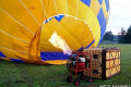 Hot air balloon cruising over picturesque valley crashes into ANOTHER balloon sending passenger on board to hospital with serious injuries