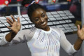 Simone Biles breaks world gymnastics championships medals record