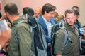 Trudeau wears bulletproof vest after security threat delays campaign rally