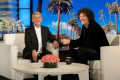 Howard Stern Gives Ellen DeGeneres a Passionate Kiss Before Remarrying Wife Beth Stern