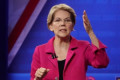 Elizabeth Warren says she won't take major donations from big tech executives