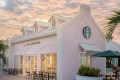 Starbucks' First-Ever Turks And Caicos Store Is A Pretty Pink Paradise