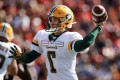Edmonton Eskimos activate quarterback Harris from six-game injured list