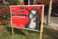 Liberal candidate Chrystia Freeland's signs vandalized in midtown Toronto neighbourhood