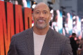 Dwayne Johnson celebrates as he tops The Coolest Dads of 2019 list