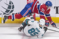 Kane scores 2 power-play goals, Sharks beat Canadiens 4-2