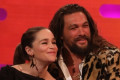 Game of Thrones' Jason Momoa reunites with