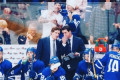 These Pictures Of Justin Bieber At The Maple Leafs Proves He's The Ultimate Fan Boy