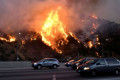 California wildfires: Devil Winds fire into life to create apocalyptic vision