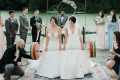 Two Brides Did A Deadlift At Their Wedding As A Symbol Of Unity And Strength