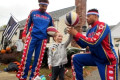 3-Year-Old 'Mighty Quinn' Battling Brain Cancer Shoots Hoops With Harlem Globetrotters