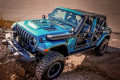Moparized Jeep Wrangler Gets Tube-Door Skins and Mirrors for SEMA