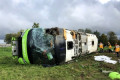 British tourists among 33 injured in horror coach crash in France