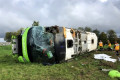 Eleven Britons among 33 injured in French bus crash