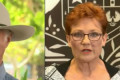 Hanson, Katter bond over drought relief