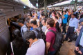 Sydney trains: Passenger numbers surge during peak periods
