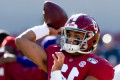 Alabama QB Tagovailoa starts against LSU after ankle surgery