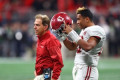 Nick Saban gives a Tua Tagovailoa update on College Gameday