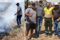 Mitchell protects local farm from NSW bushfires
