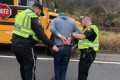 School bus driver charged with DUI after crashing with 10 students on board