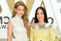 Surprise BFFs? Kacey Musgraves Brings Gigi Hadid as Her Date to the CMA Awards