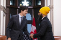 Jagmeet Singh tries to play up the NDP's clout after meeting with Justin Trudeau
