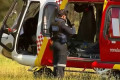 Helicopter makes emergency landing in mashlands