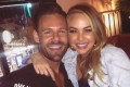 Angie Kent enjoys her 'first night out in the real world' with Bachelorette winner Carlin Sterritt - and Gogglebox co-star Yvie Jones approves