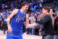 Mavericks guard Luka Doncic inches into LeBron James stratosphere with 42-point triple-double
