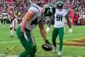 Ryan Griffin's sticky hands TD celebration is absolutely mesmerizing
