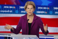 Elizabeth Warren gets most speaking time at Democratic debate for a 2nd time