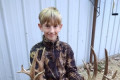 Boy, 11, uses grandpa's 39-year-old rifle to shoot 22-point buck