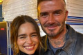 David Beckham Admits He Was 'Star Struck' Meeting Game of Thrones Star Emilia Clarke at Concert