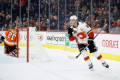 Tkachuk's shootout goal helps Flames top Flyers, end skid