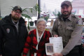 A 104-year-old woman shot her first buck after getting her hunting license on opening day