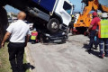 Woman survives runaway truck crush in South Africa