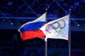 Russia hits back at 'political' doping ban threat