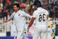 Pakistan on top after day one of historic Test