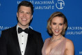 Scarlett Johansson Jokes About Engagement to Colin Jost in Marvel-Themed 'SNL' Monologue