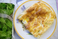 Quiche de abobrinha, presunto e cream cheese!
