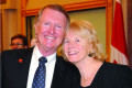 Wife of former Leeds-Grenville MPP, senator dies after collision in Brockville hospital parking lot