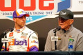 Joe Gibbs apologizes for celebrating Denny Hamlin's Daytona 500 win