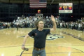 Montana State student hits full-court shot to win $11,111 in halftime contest