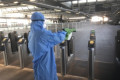 Train firm using disinfectant which 'will kill coronavirus for up to 30 days'