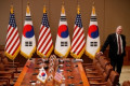 A US delegation expected Tuesday in Seoul to talk about North Korea