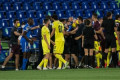 Getafe-Villarreal: General fight, police intervention…