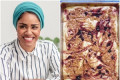 I made the sheet pan pancakes from 'Nadiya's Time to Eat,' and they were truly life-changing