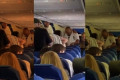 A huge fight breaks out in mid-flight Amsterdam-Ibiza
